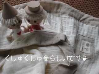 雲のガーゼNeo 4重 ブランケット 小花ベージュ