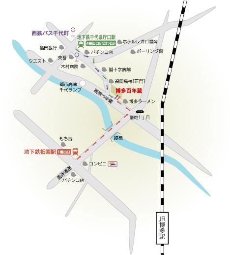 石蔵酒造地図
