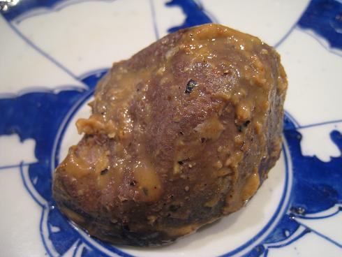 天然猪レバー味噌漬け完了