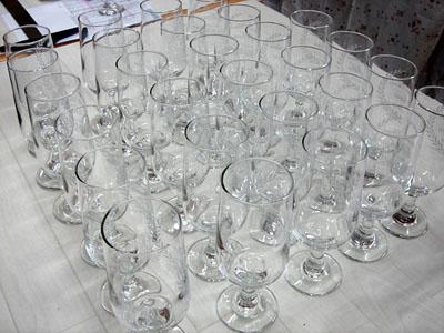 成人式記念向け名入れ彫刻ピルスナーグラス