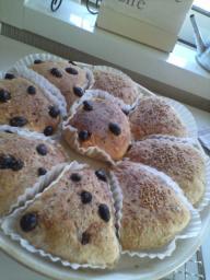 自家製酵母パン第1号
