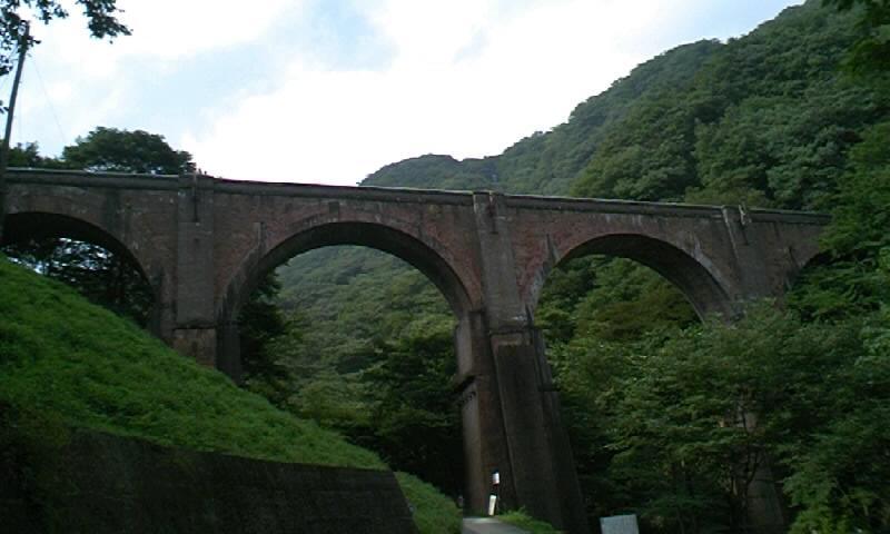 碓氷峠(旧道)鉄道橋