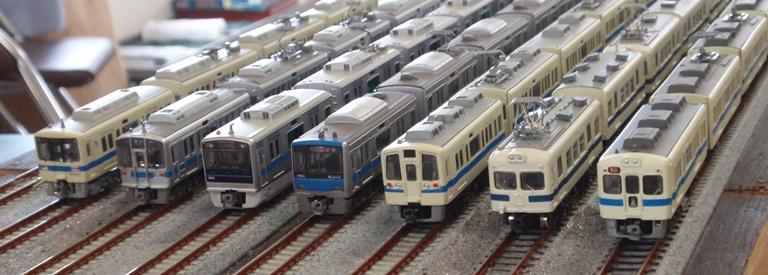 2010秋小田急通勤車両群