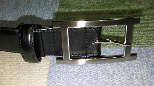 日本製 ビジネスベルト H型バックル