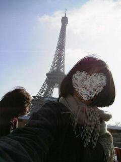 エッフェル塔と私