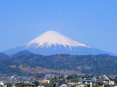 4/3 県大からの富士山1