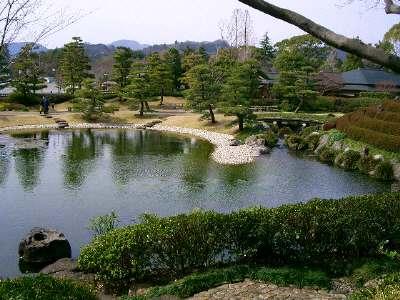 紅葉庭園3 パンフの写真と同じ撮影場所