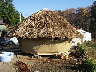 昨日の小屋