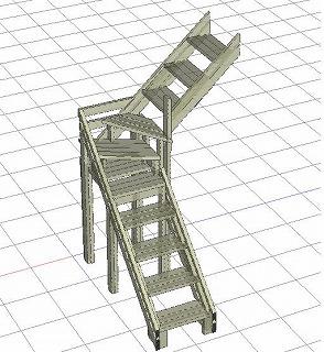階段設計図