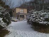 雪の合宿所