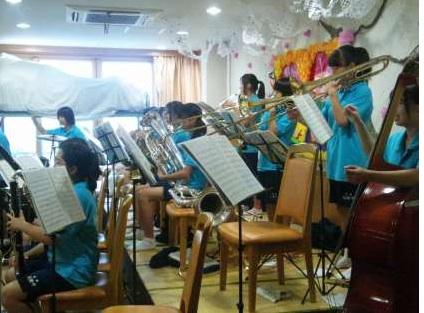 北陵中学吹奏楽