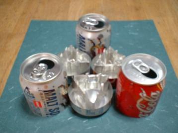 防災センター空き缶コンロ2