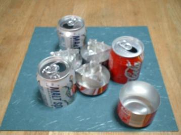 防災センター空き缶コンロ1