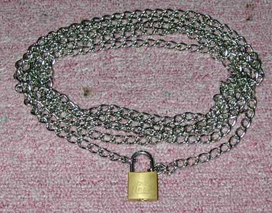 鎖と南京錠・2