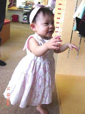 1歳の写真・スタジオアン