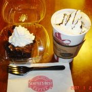 シアトルズベストのチョコケーキ