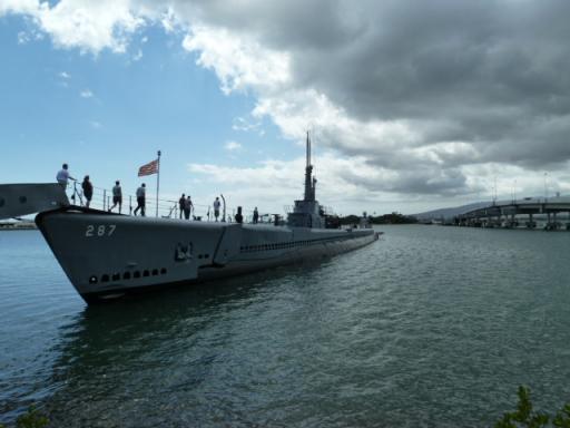 真珠湾の潜水艦