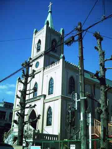 カトリック別府教会外