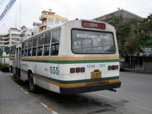 プラプラデーン~パークナムのバス