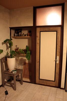 キッチンの扉