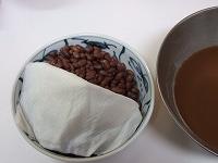 小豆炊いた