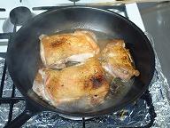 とり甘辛煮フライパン2