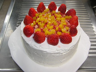 ホワイトデーは感謝ケーキ4