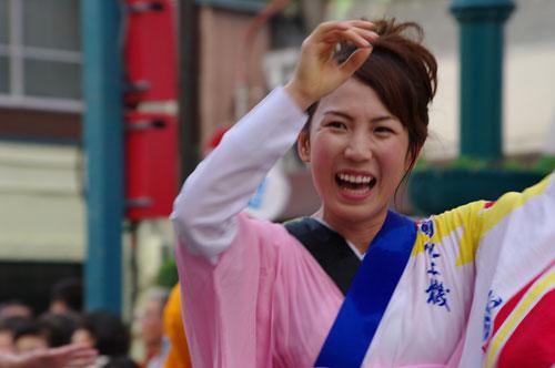 2009阿波踊り勅使河原郁恵
