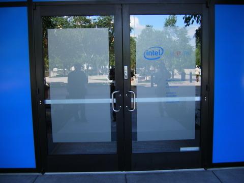インテルミュージアムの玄関