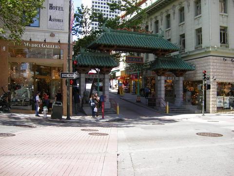サンフランシスコの中華街