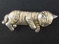 子猫ブローチ-k027