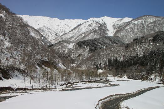 野谷橋から見た風景