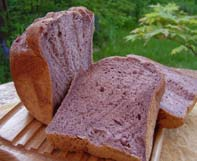 黒米粉パン