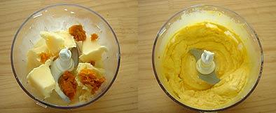 かぼちゃアイスの工程