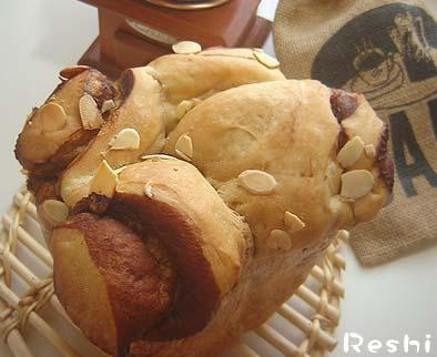 コーヒーロールパン3完成