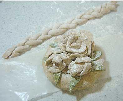 薔薇と三つ編み