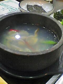 アサリ・スープ