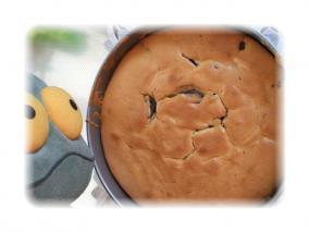 ケーキ焼き上がり
