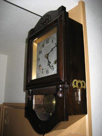 ミカヅキ柱時計2