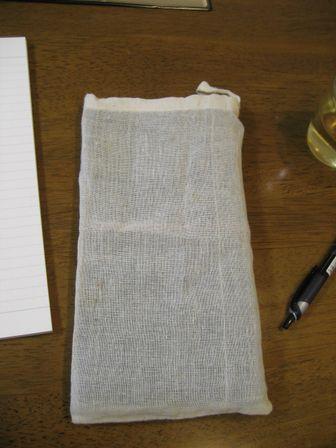 トラベラーズノートと袋
