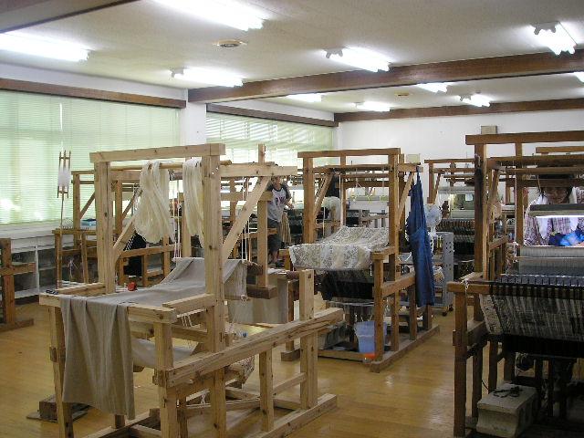 2階の機織場