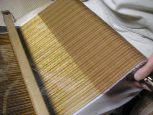 黄八丈織物