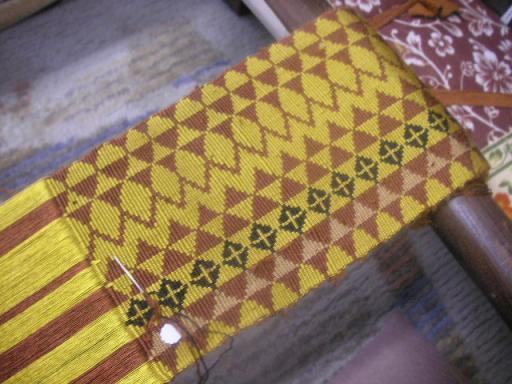 カッペタ織り帯