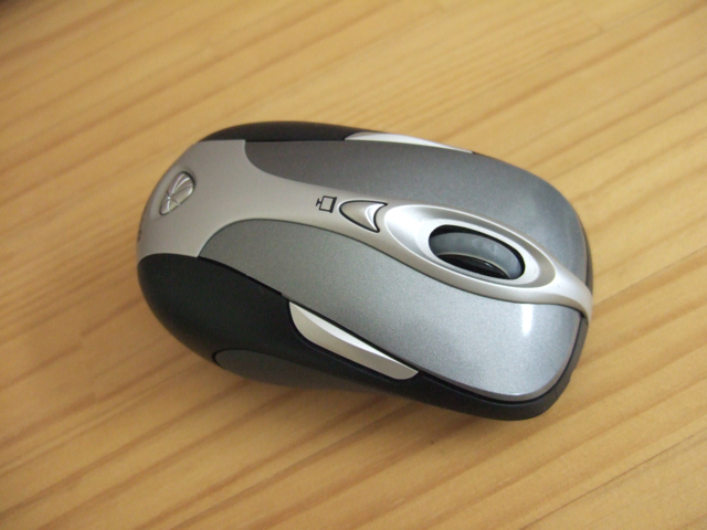 Microsoft Wireless Notebook Presenter Mouse 8000 ?
