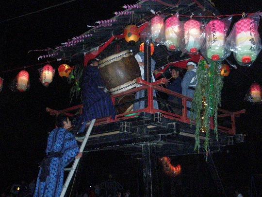 八幡神社櫓太鼓