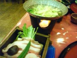 霧島温泉のお料理4