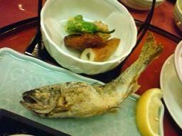 霧島温泉のお料理5