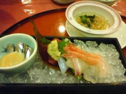 霧島温泉のお料理2