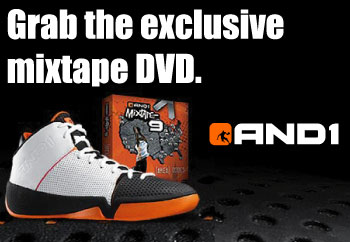 AND1 MIXTAPE Vol 9 LIMITED EDITIONプレゼントキャンペーン