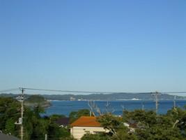 太海駅から海を見る